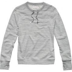 Jasper - Graphite Jacquard - the long sleeve crew neck sweatshirt - Graphite Jacquard