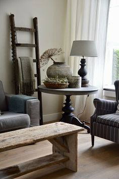 A look inside Anne Marie - De Wemelaer - Lilly is Love Cream Living Rooms, Interior Decorating, Interior Design, Diy Furniture Projects, Rustic Decor, Sweet Home, House Design, Decoration, Home Decor