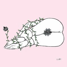 These illustrations by Layse Almada show the path women take to grow and accept themselves as they are. Art And Illustration, Sacred Feminine, Wow Art, Erotic Art, Black Art, Female Art, Coloring Pages, Art Drawings, Digital Art