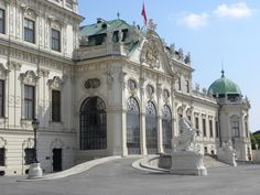 Belvedere Palace, Vienna Austria