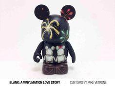 Blank: A Vinylmation Love Story Custom by Mike Vetrone