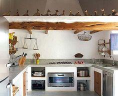 Querido Refúgio, Blog de decoração e organização com loja virtual: + Cozinhas em alvenaria e cimento queimado!