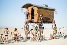 Burning Man Festival Architecture Gets Permanent Treatment in New Book
