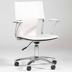 Chintaly Imports Mid-Back Office Chair with Swivel