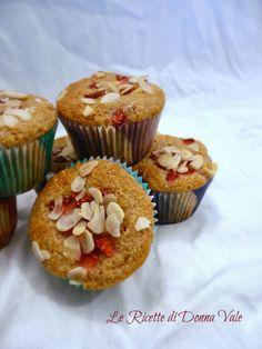Muffin al farro e fragole
