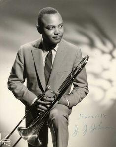 Jay Jay Johnson - trombone