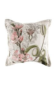 PRINTED BOTANICAL FIG 55X55CM SCATTER CUSHION
