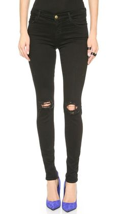 In search of the perfect black jeans // J Brand