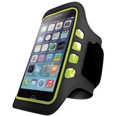 IPHONE 6 LED ARMBAND: ULTRA VISIBLE LED ARMBAND FOR SAFE OUTDOOR WORKOUTS! Do you love exercising outdoors, and would like a convenient armband for your 4.7 inch iPhone 6 for easy music on the go? Would you like a protective, high visibility armband designed to allow you to exercise safely...