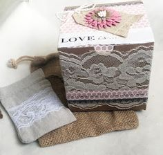 Wedding Box by Melanie Kraft Boxes, Wedding Boxes, Burlap, Reusable Tote Bags, Stickers, Hessian Fabric, Sticker, Canvas