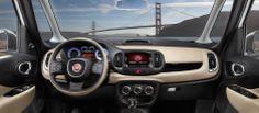 2014 FIAT 500 L Interior