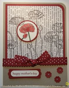 Technique - Spotlight by Muffin's Mama - Cards and Paper Crafts at Splitcoaststampers