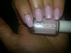 Essie Neo Whimsical. Three thin coats. #lilac #essie #manicure