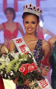 Megan Young was crowned Miss World 2013 on Saturday night in Bali, Indonesia, making history as the first-ever Filipino winner of the title since the Philippines' debut in the pageant in Miss Philippines, Miss Universe Philippines, Megan Young, What Makes U Beautiful, Beautiful Inside And Out, Beautiful People, Gorgeous Women, Miss Mondo, Miss World 2013