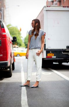 Grey Marle styled by We Wore What.