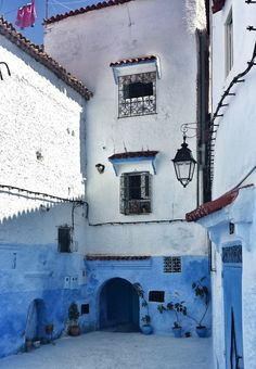 Mike Sowden photo:  Chefchaouen, Morocco, Africa #blue #city #travel #beauty #architecture