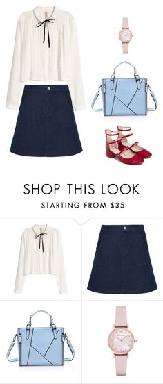 """Untitled #60"" by wooniverse on Polyvore featuring H&M, See by Chloé, Emporio Armani and Zara"