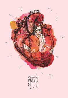 pin by mackenzie smith on design watercolor heart Illustration Art Nouveau, Watercolor Heart, Anatomical Heart, Human Heart, Gcse Art, Anatomy Art, Human Condition, Heart Art, Art Sketchbook