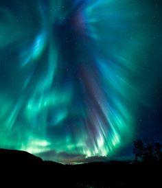 This is an amazing photo of the Aurora Borealis, taken in Norway: Aurora Dragon. by Trichardsen.deviantart.com