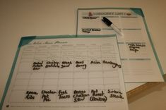Simple Meal Planning @ Passionate Homemaking