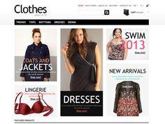 Clothes Bootstrap PrestaShop Template