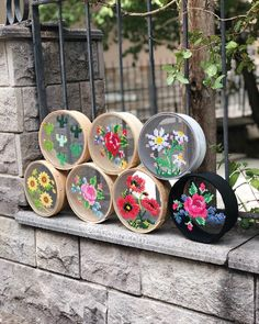 @edolimcom Embroidery Designs, Embroidery Art, Cross Stitch Embroidery, Crochet Flower Patterns, Crochet Flowers, Diy And Crafts, Arts And Crafts, Embroidered Roses, Gross Motor Activities