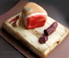 E.-fondant sausage and ham