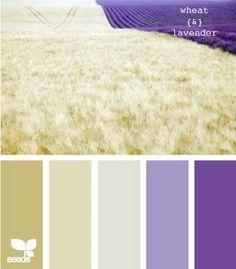 Coordinating SU colors: River Rock, Sahara Sand, Wisteria Wonder and Eggplant Envy