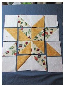 Evening Star Quilters: Variable Star Quilt Block ( inc See the source image This striking Scandinavian themed patchwork table runner in How to lay out your You Are Loved Heart Quilt pattern Star Quilt Blocks, Star Quilts, Mini Quilts, Block Quilt, Quilt Square Patterns, Quilt Patterns Free, Quilt Block Patterns 12 Inch, Triangle Quilt Pattern, Patchwork Patterns