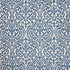 Home Decor Print Fabric- PKL Srilanka Indigo, , hi-res