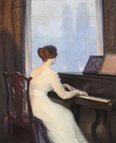 ♪ The Musical Arts ♪ music musician paintings - William Worcester Churchill…