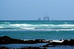 Rig spotted off Cape Agulhas