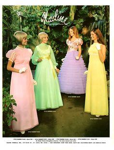 1960s Dresses, Vintage Dresses, Vintage Outfits, Vintage Fashion, 50 Fashion, Fashion Photo, Fashion Dresses, 1960s Fashion, Vintage Prom