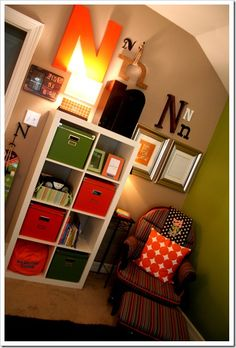 Great for a big boy room but in different colours