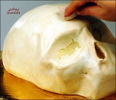 Wicked Goodies | How to Make a Skull Cake | http://www.wickedgoodies.net