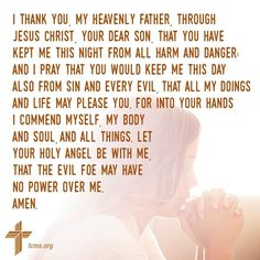 I Thank You, Lutheran, I Pray, Heavenly Father, Jesus Christ, Bible Verses, Words, Life, Scripture Verses