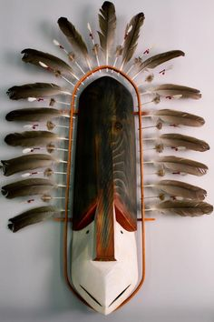 Sugpiaq/Alutiiq Bird transformation mask, AK peninsula