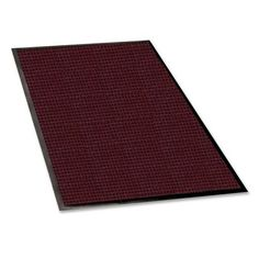 Genuine Joe Waterguard Mat - 6' Length x 4' Width - Rubber - Burgundy by Genuine Joe Products. $122.99. Genuine Joe Waterguard Mat - 6' Length x 4' Width - Rubber - Burgundy Waterguard mat is designed for indoor and outdoor use. Bi-level construction keeps dirt and moisture trapped beneath the shoe level. Raised border keeps water and dirt in the mat and off the floor. Premium, 24 oz. polypropylene carpet dries quickly and will not rot. Mat offers 100 percent rubb...