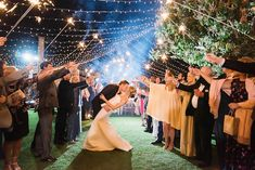 Twinkling Lights That'll Spark Joy at Your Next Wedding - Inspired By This Wedding Exits, Next Wedding, Farm Wedding, Wedding Reception, Red Photography, France Photography, Twinkle Lights, Twinkle Twinkle, Flora Farms