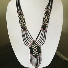Traditional Ukrainian Folk Necklace Gerdan by CreativeBeads4U