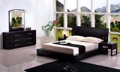 bedrooms sets - Home Interior Design Ideas Contemporary Bedroom Sets, Modern Bedroom Design, Home Interior Design, Bedroom Designs, Cheap Bedroom Furniture, Home Furniture, Black Furniture, Modern Furniture, American Home Design