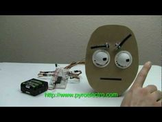 Animatronic Eyes Using Servos