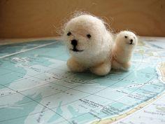 felt seals - ayelet gazit