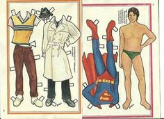 heroes paper dolls - Buscar con Google