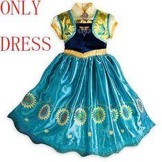 Frozen Princess Costume