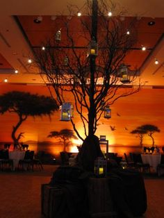 Wonder if Zeke could do lighting like this? Backdrops Beautiful - Backdrops In Action Africa Theme Party, African Party Theme, African Wedding Theme, Safari Theme Party, Jungle Party, Jungle Theme, Lion King Wedding, Lion King Party, Lion King Birthday