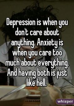 Truth about depression and anxiety