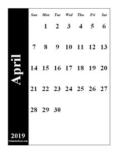 Printable January 2019 Notes Calendar 2019 Calendars Pinterest