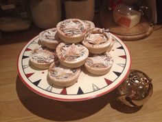 Mince pies made for Father Christmas
