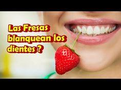 BLANQUEA TUS DIENTES CON FRESAS | REMEDIOS CASEROS PARA BLANQUEAR TUS DIENTES - YouTube